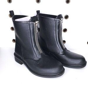 NEW Frye Storm Zip Rain Boots Outdoor